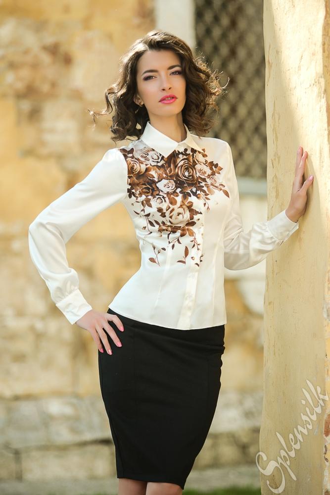 Модные Платья И Блузки