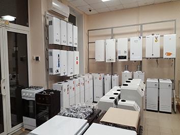 Продажа и обслуживание Газовых котлов, колонки, плиты
