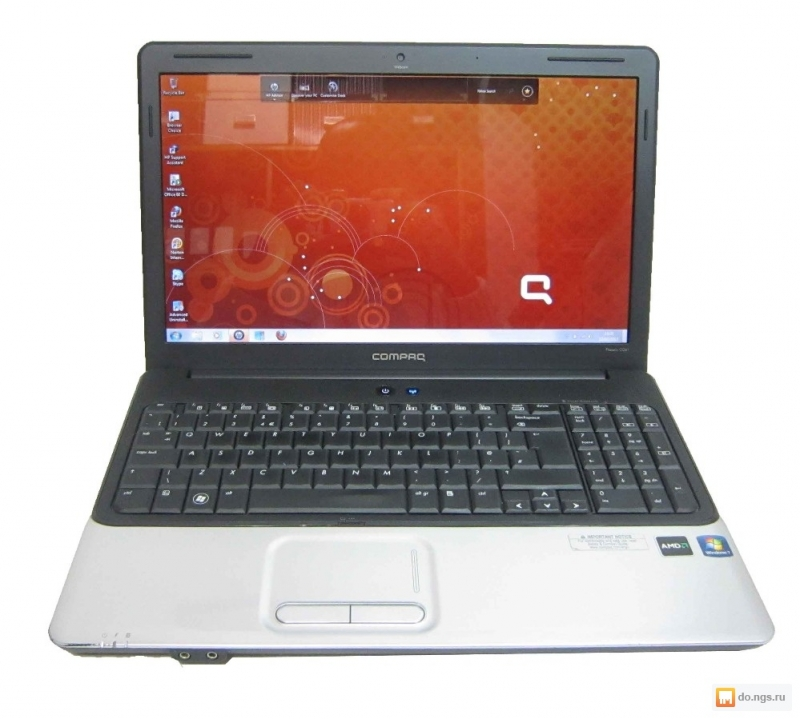 Ноутбук Compaq CQ61 2 ядра 2300 Mhz 2 Gb 500 hdd 15,6 dvd wi-fi camera